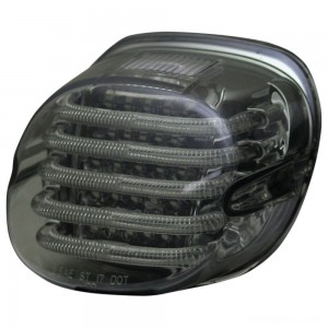 Custom Dynamics ProBEAM Low Profile LED Taillight w/ Window, Smoke - PB-TL-LPW-S | IDSpamCalls.Com