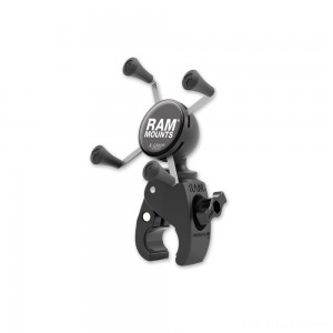 Ram Mount Tough-Claw Mount with Universal X-Grip Cradle for Small Phones - RAM-HOL-UN7-400U