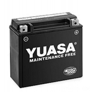 Yuasa High-Performance Maintenance Free Battery - YTX24HL-BS replaces type Y50-N18L-A