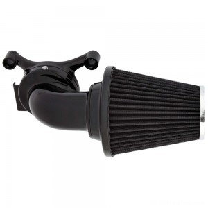 Arlen Ness 90° Monster Sucker Air Cleaner No Cover Black - 81-000