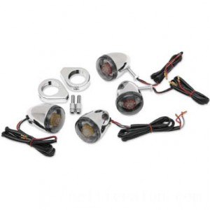 J&P Cycles Deuce Style LED Turn Signal Kit | IDSpamCalls.Com