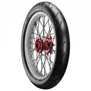 Avon AV91 Cobra Chrome MH90-21 Front Tire - 2120194