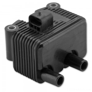 Twin Power Black High Performance Coil OEM Replacement 31655-99 - 210073
