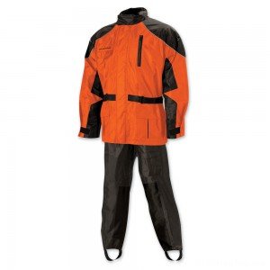 Nelson-Rigg AS-3000 Aston Hi-Viz Orange Rain Suit - AS3000ORG04XL