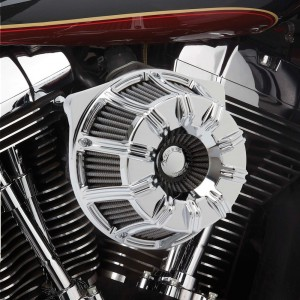 Arlen Ness Inverted Series 10-Gauge Chrome Air Cleaner Kit - 18-942