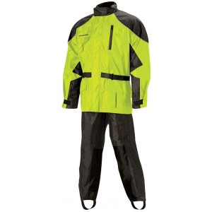 Nelson-Rigg AS-3000 Aston Hi Visibility 2-piece Rain Suit - AS3000HVY03LG