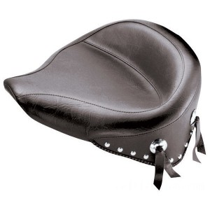 Mustang Wide Studded Solo Seat - 76179 | IDSpamCalls.Com