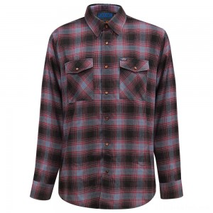 Dixxon Men's J&P Cycles Exclusive 40th Anniversary Flannel - JP40TH-MNS-LG
