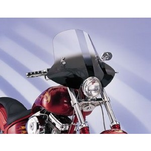 Memphis Shades Demon Gradient Black Handlebar Mount Windshield - MEM2211