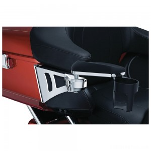 Kuryakyn Stealth Passenger Armrests for Tour Pak - 8955