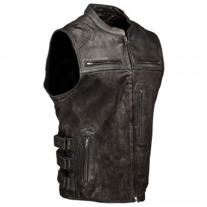 Speed and Strength Men's Tough as Nails Black Vest - 1114-0505-0053