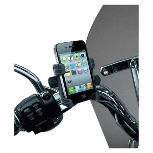 Kuryakyn Tech-Connect Complete Cell Phone or Device Handlebar Mount Kit - 1699 | IDSpamCalls.Com