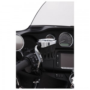Ciro Chrome Drink Holder With Perch Mount - 50410 | IDSpamCalls.Com