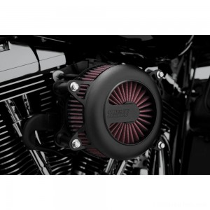 Vance & Hines VO2 Rogue Air Cleaner Kit Black - 40073 | IDSpamCalls.Com