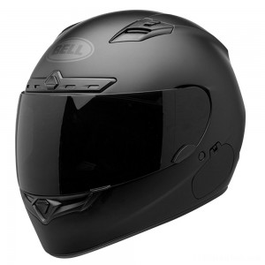 Bell Qualifier DLX Blackout Matte Black Full Face Helmet - 7085216