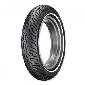 Dunlop D402 MT90B16 Narrow Whitewall Front Tire - 45006655