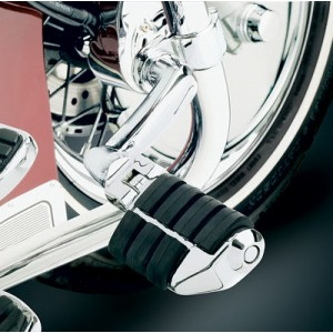 Kuryakyn Longhorn Offset Dually Highway Pegs with 1-1/2″ Magnum Quick Clamps - 4574 | IDSpamCalls.Com