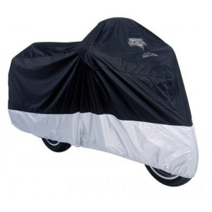 Nelson-Rigg Defender Deluxe Black Motorcycle Cover - MC-904-05-XX