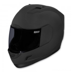 ICON Alliance Dark Full Face Helmet - 0101-6645