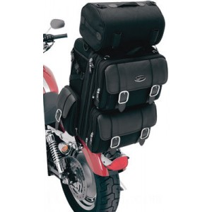 Saddlemen S3200DE Deluxe Sissy Bar Bag - 35150086