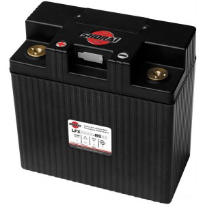Shorai Xtreme-Rate LifePO4 LFX Lithium Duration Battery - LFX36L3-BS12