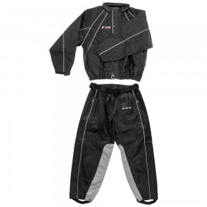 Frogg Toggs Hogg Togg Black Rain Suit with Heat Resistant Leg Liners - FTZ10323-01XL | IDSpamCalls.Com