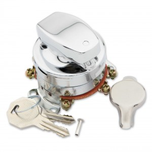 J&P Cycles Heavy-Duty Electronic Ignition Switch