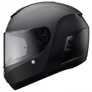 Sena Technologies Momentum Lite Bluetooth Integrated Black Full Face Helmet - MO-LITE-MB-XXL-01
